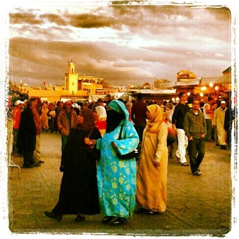 Marrakesch-Souk-Frauen