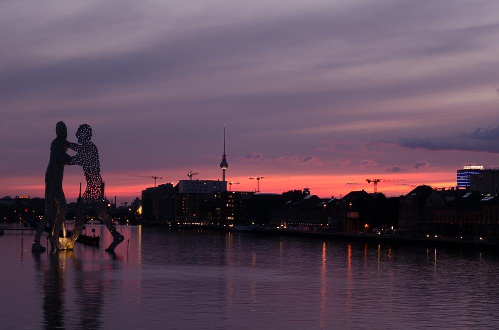 Die 10 schönsten Fotospots für Sonnenuntergänge in Berlin