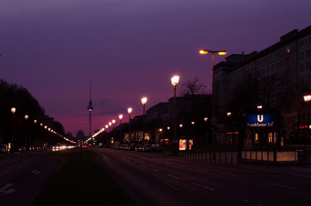 Sonnenuntergänge Berlin Spots