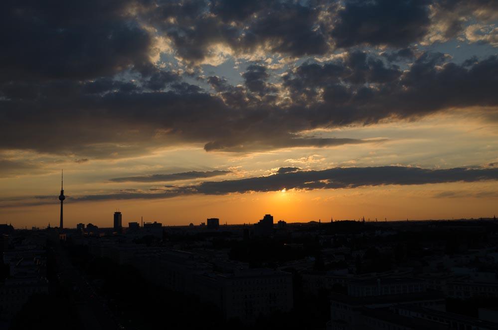 Sonnenuntergang Spots Berlin