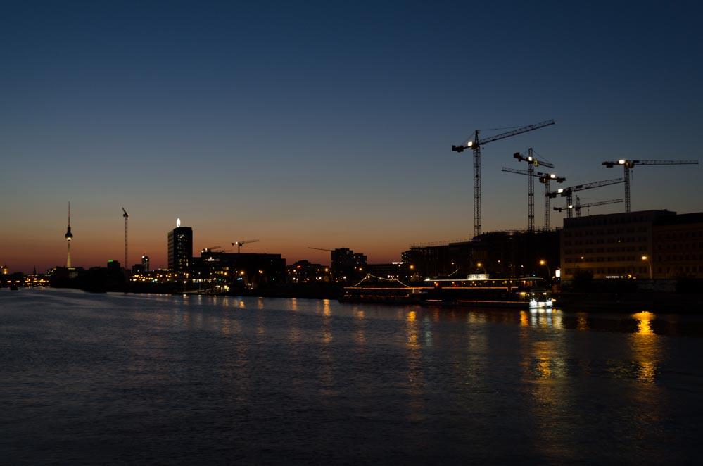 Sonnenuntergang Berlin Spots