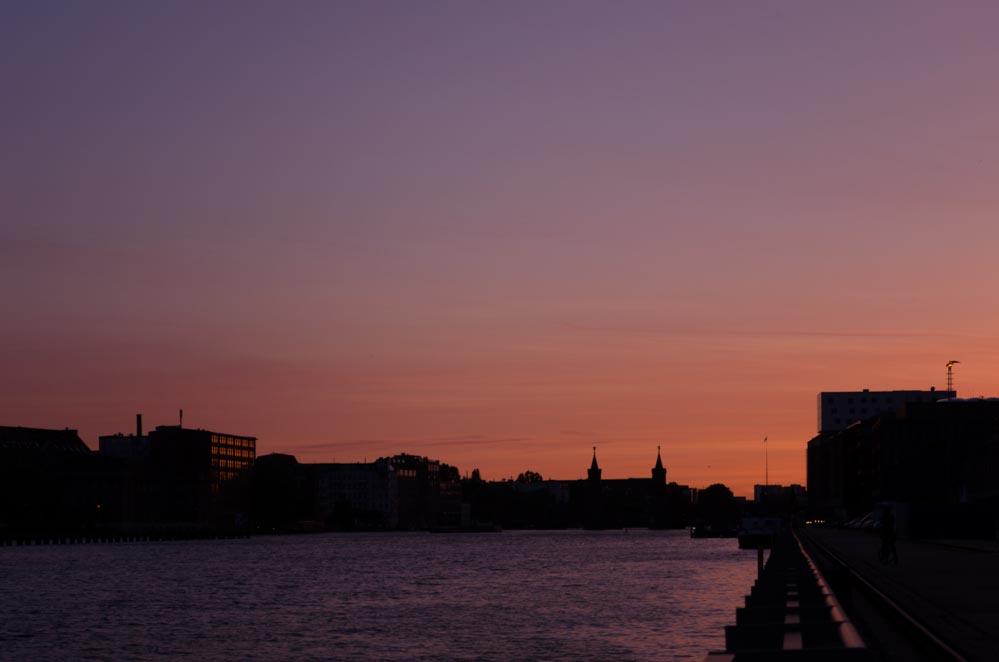Sonnenuntergang Spot Berlin