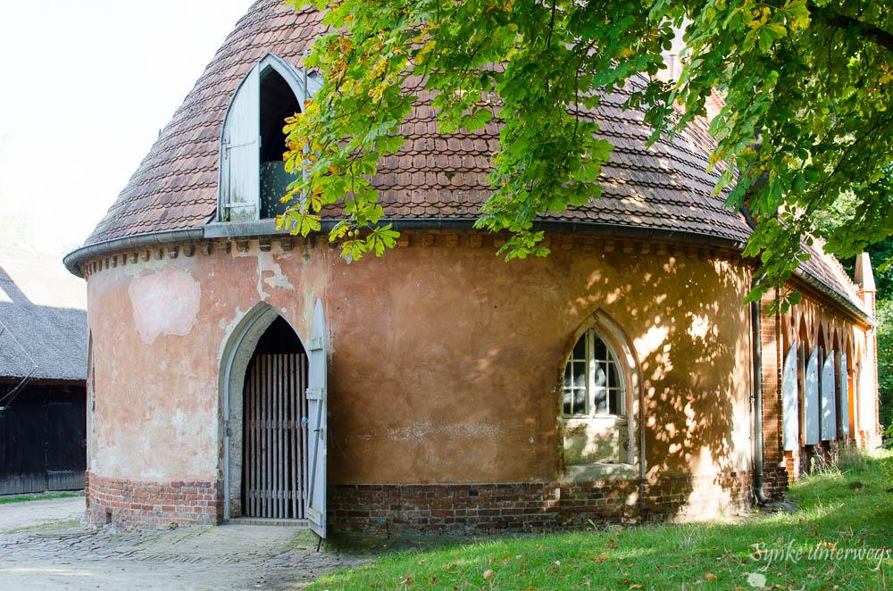 Die historischen Pferdestelle auf der Berliner Pfaueninsel