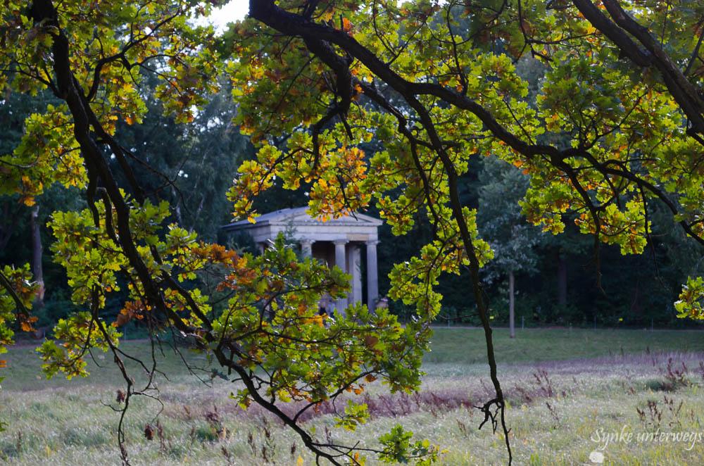 Tempel zu Ehren von Königin Luise auf der Berliner Pfaueninsel