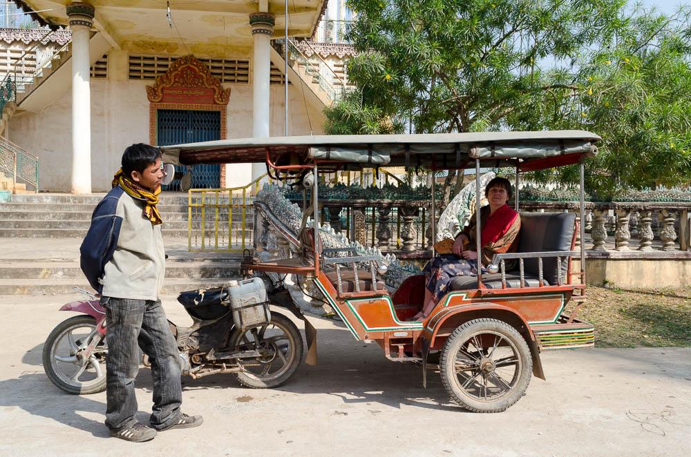 TukTuk in Kambodscha
