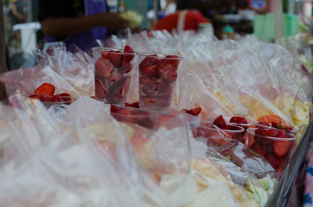Erdbeeren in Thailand