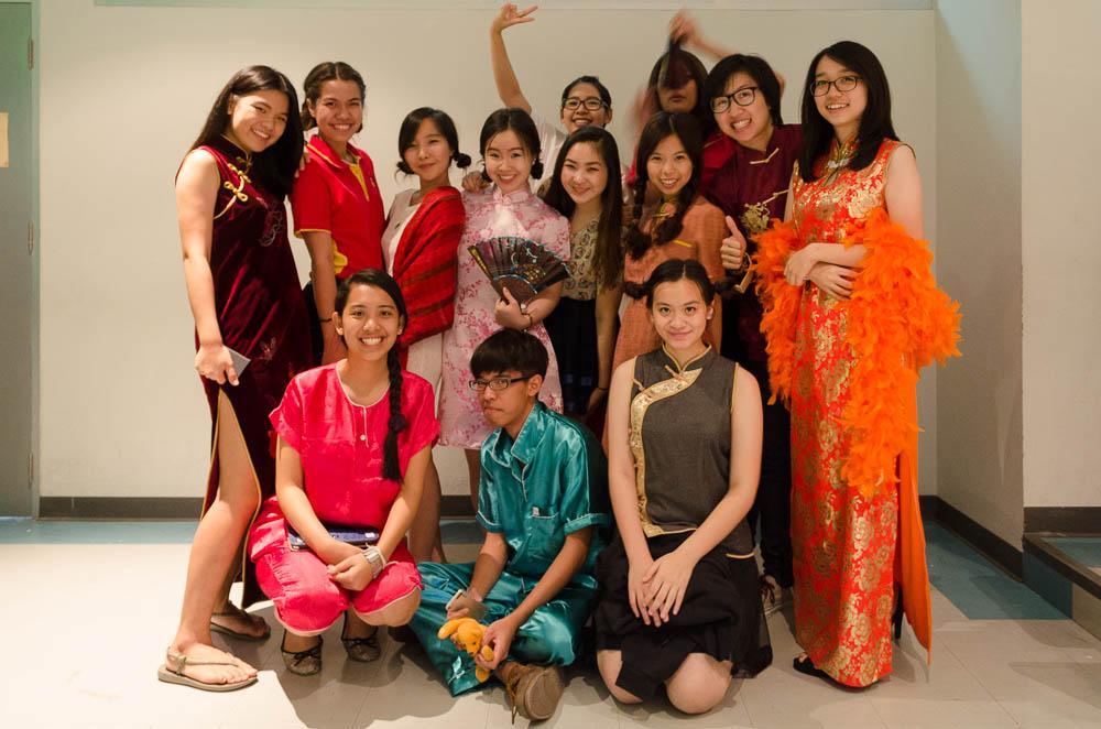 Thailändische Deutsch Studenten