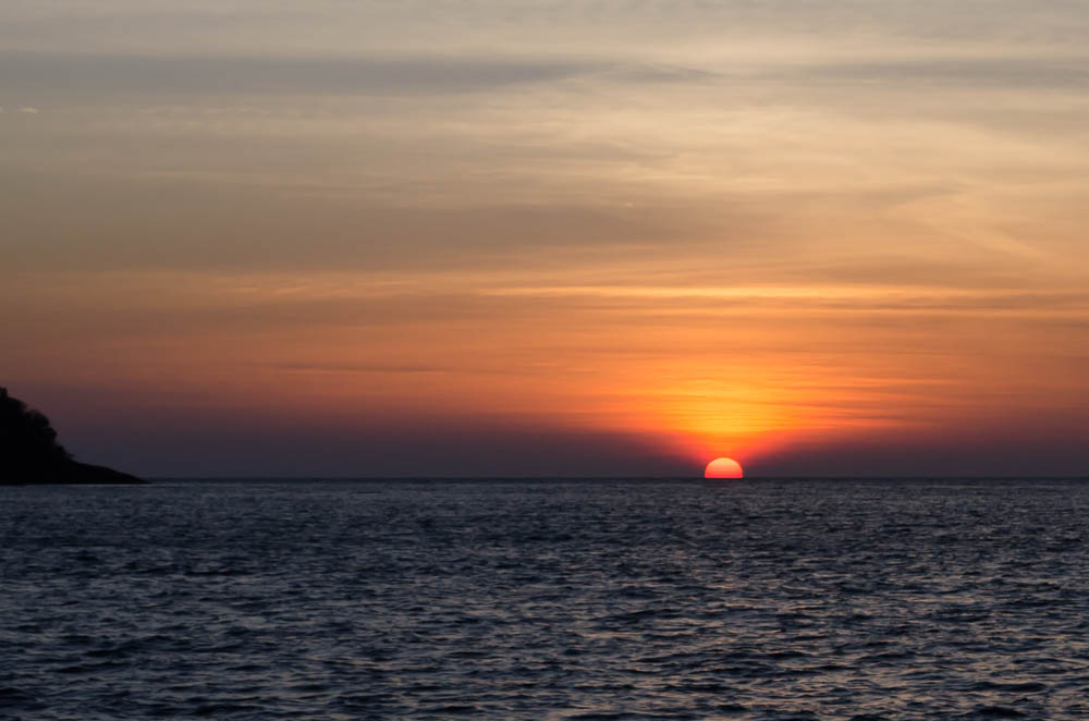 Sonnenuntergan Koh Samet