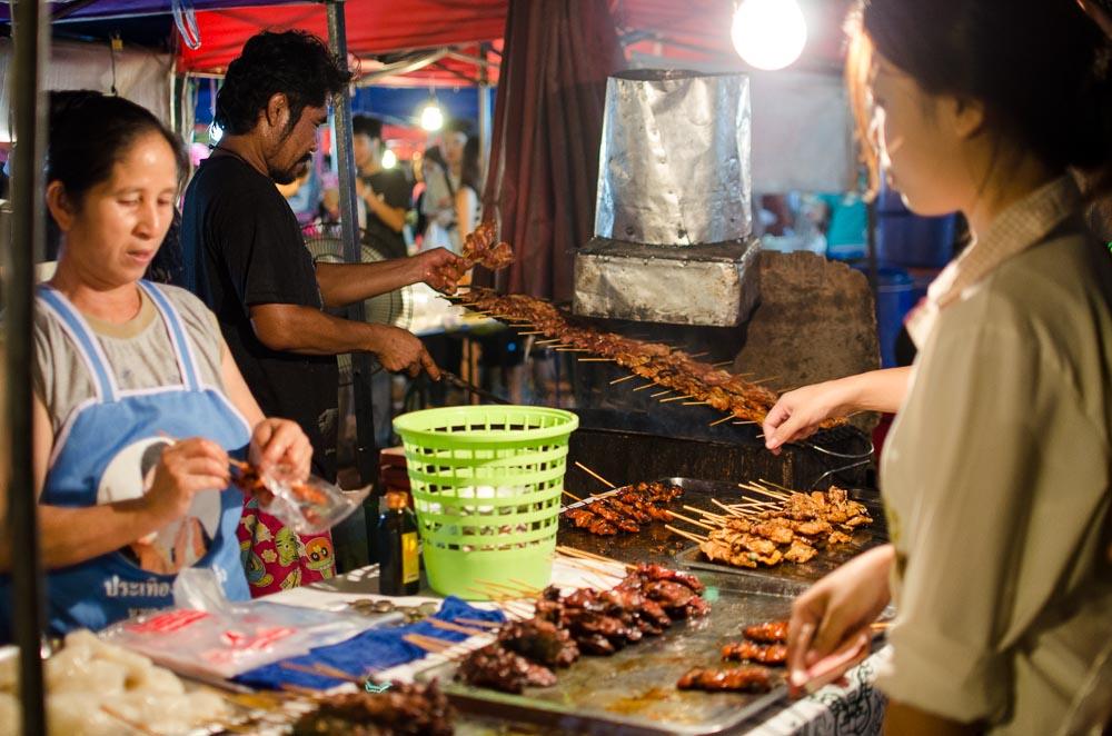 Wie vegetarisch sind thailändische Nachtmärkte