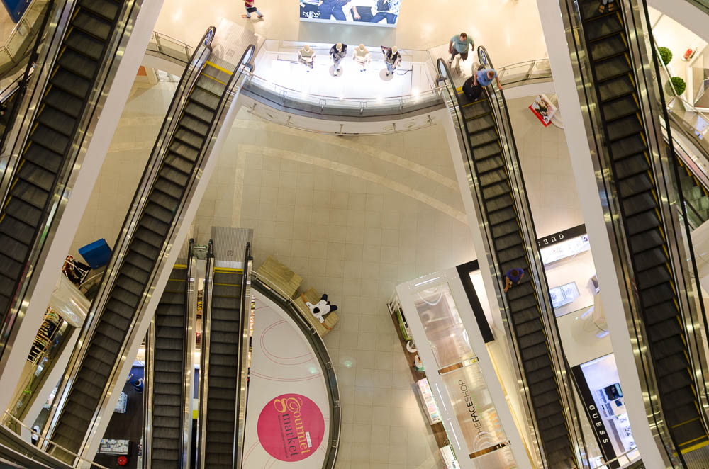Shoppingcenter Level 21