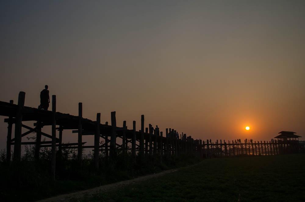 U Bein Brücke Amarapura