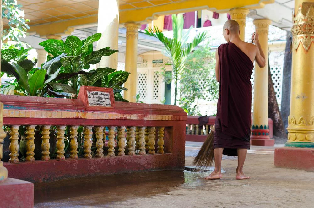 Mönch in Myanmar
