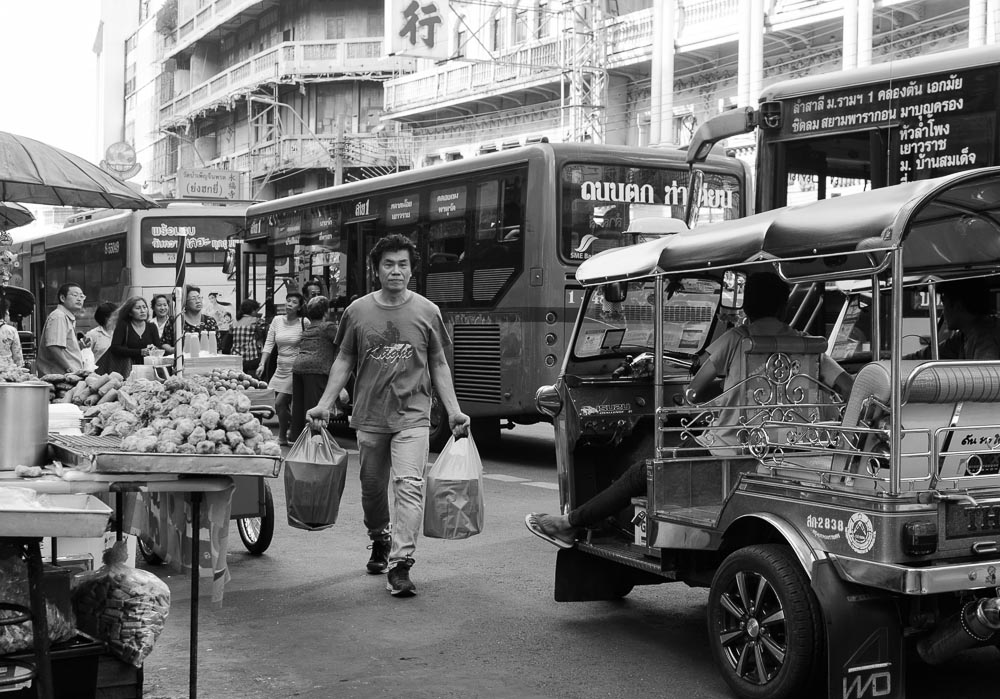 Strassenleben in Bangkok