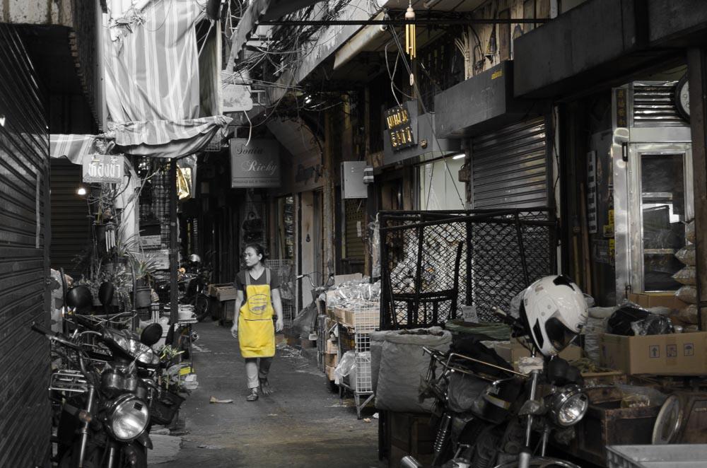 Strassen von Bangkok