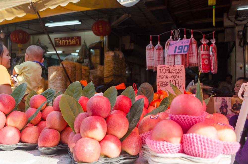 Äpfel in Thailand