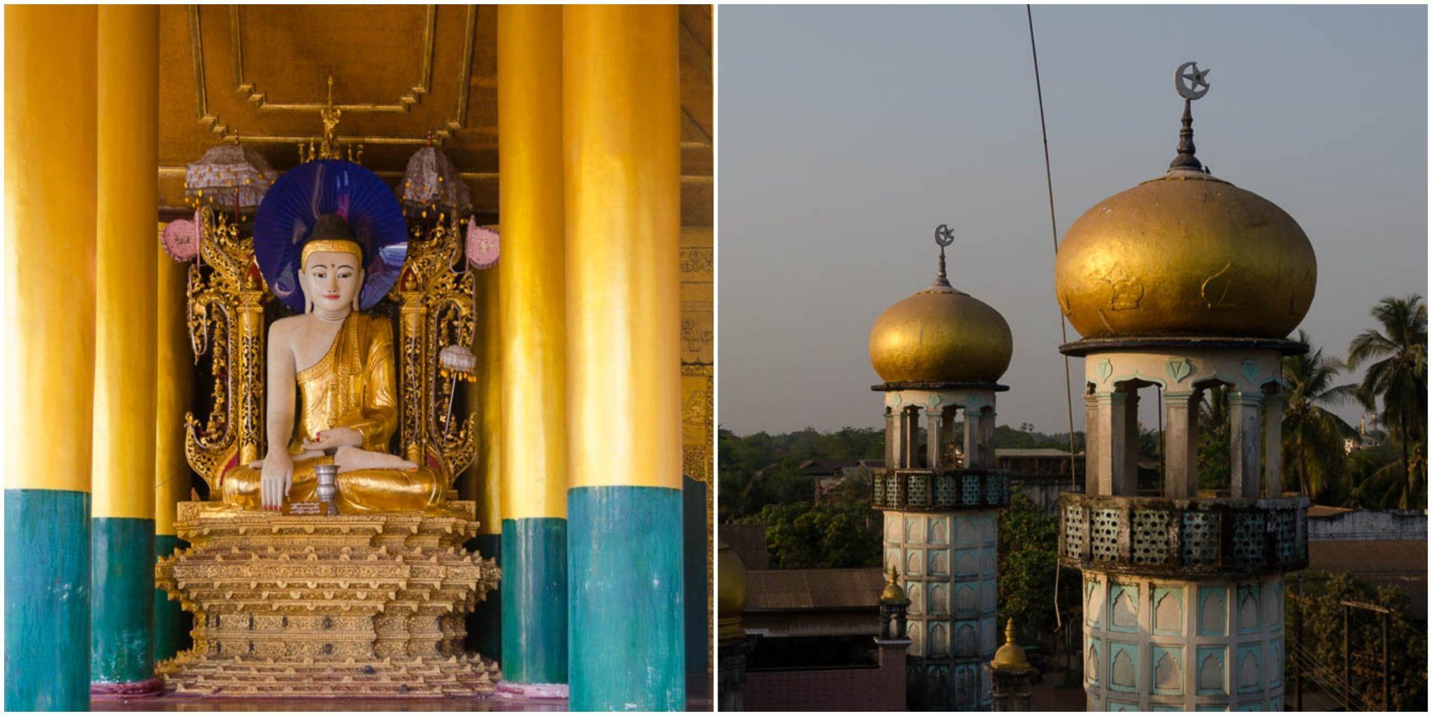 Buddhismus Muslim Hindu