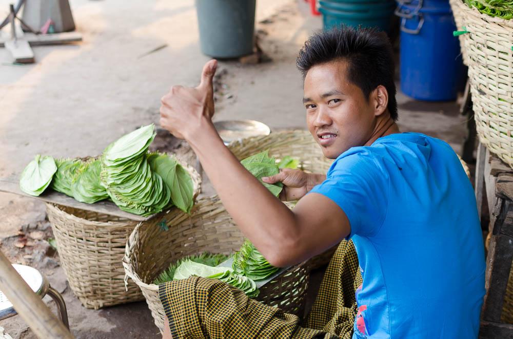 Betel kauen in Myanmar