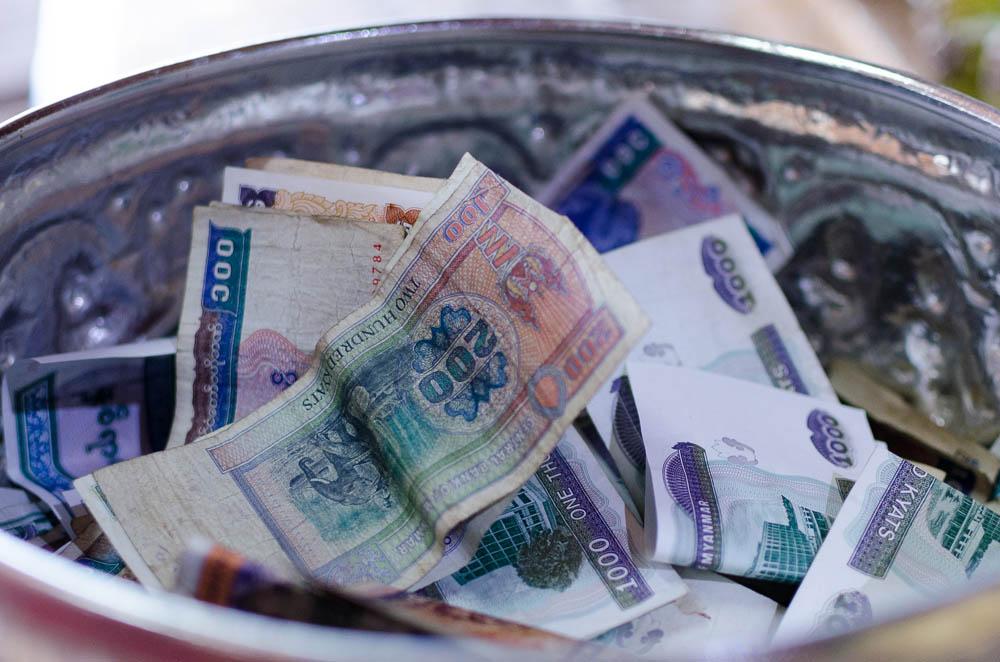 Währung in Myanmar