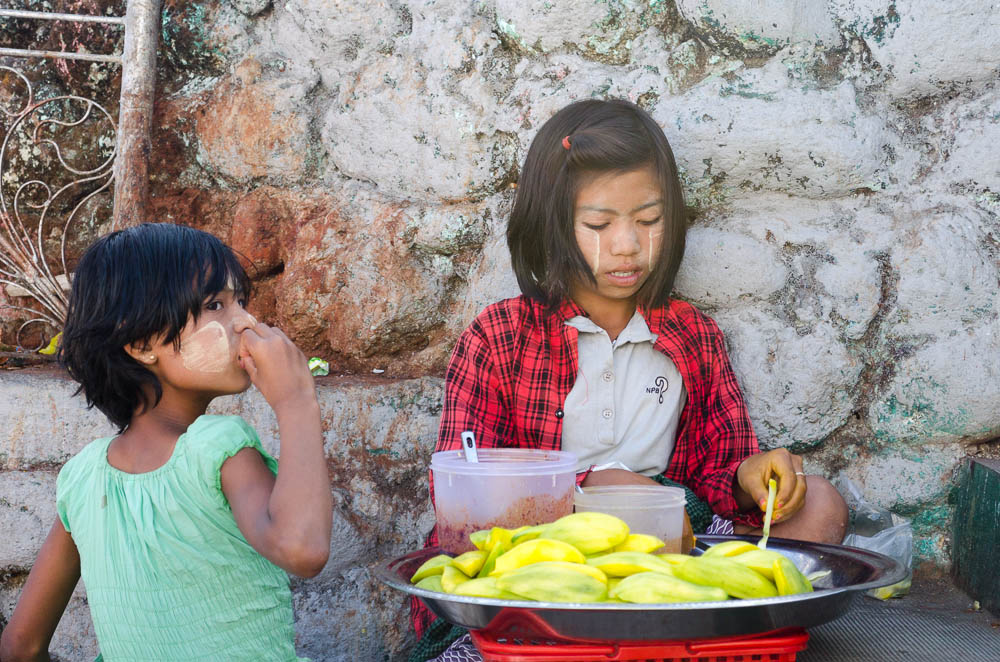 Tanaka - Schönheitsideal Myanmar