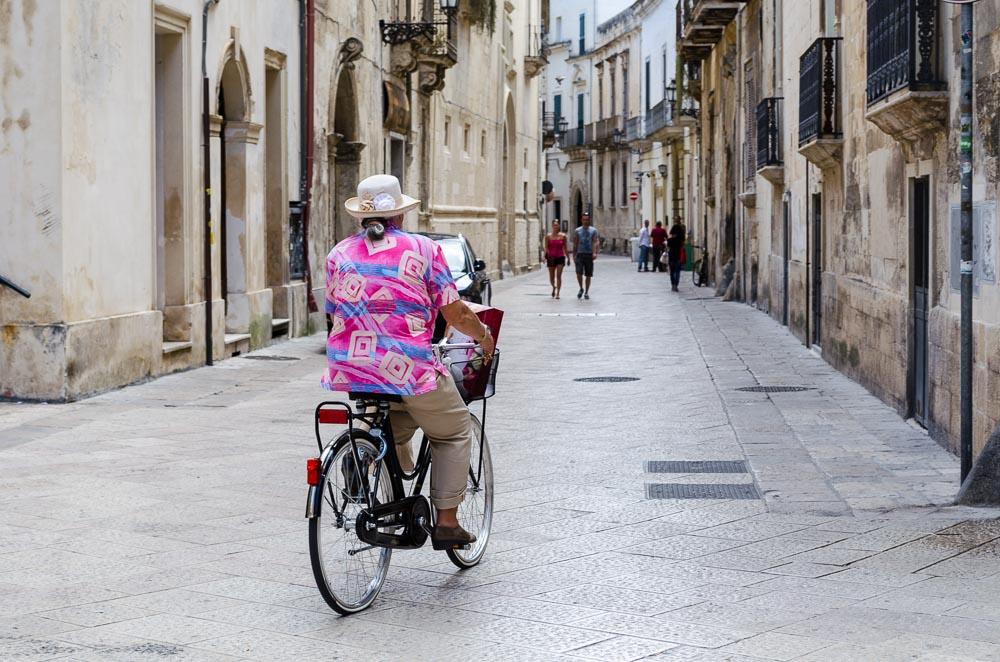 Lecce in Apulien Italien