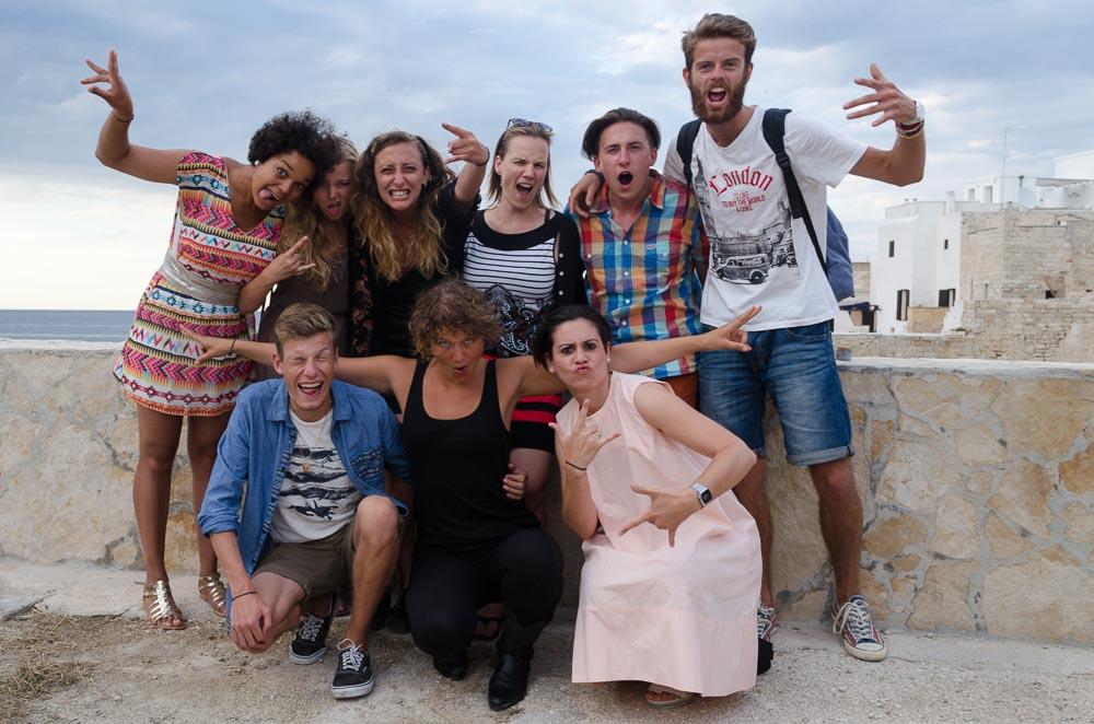 Storyteller in Puglia Italien