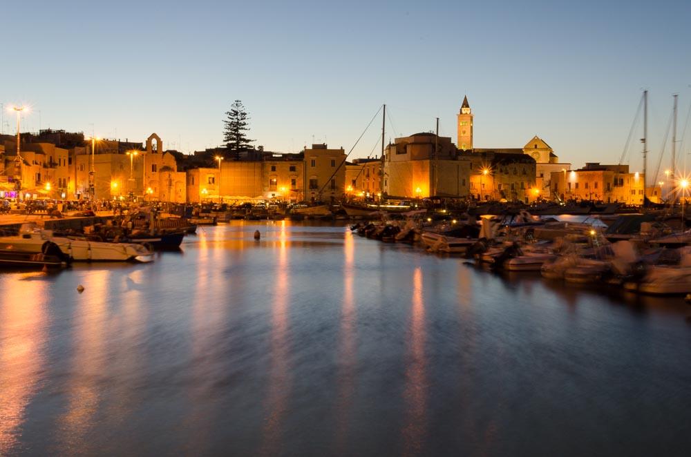 Hafen von Trani in Italien