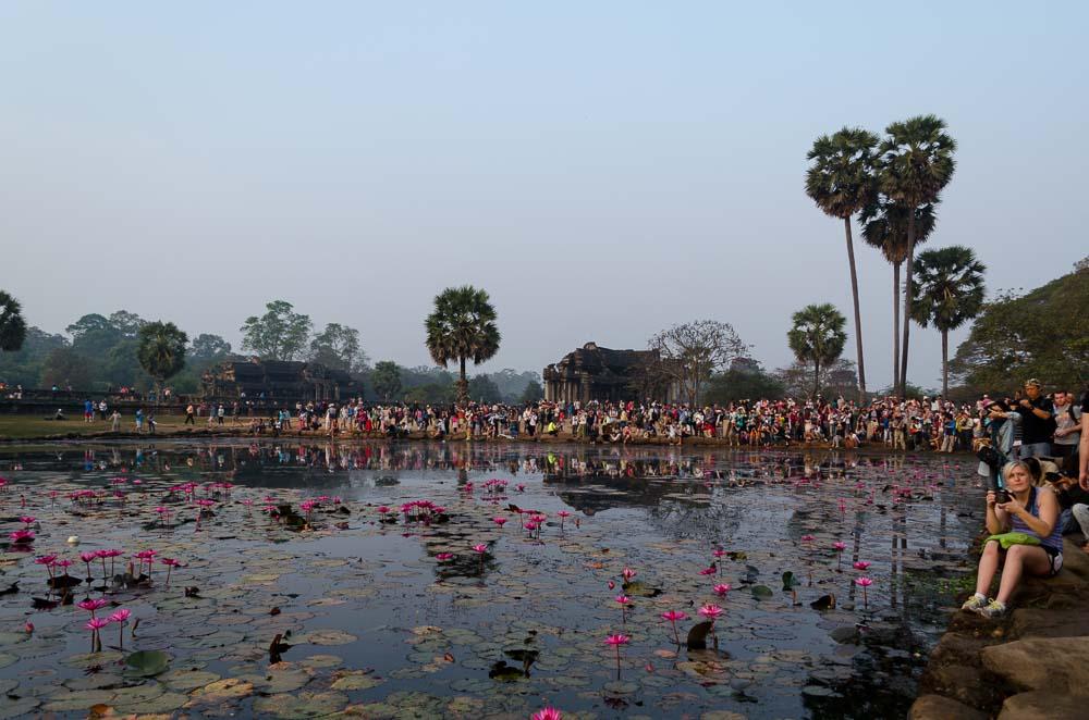 Angkor Wat Hinter den Kulissen