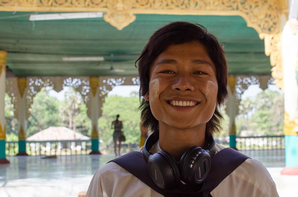 Sänger in Myanmar
