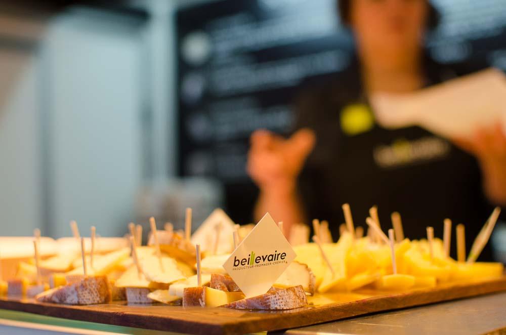 Französischer Käse aus Nantes