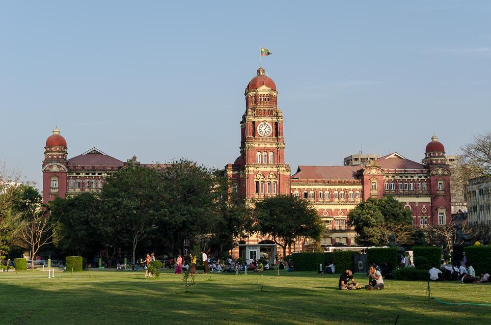Stadttour Yangon