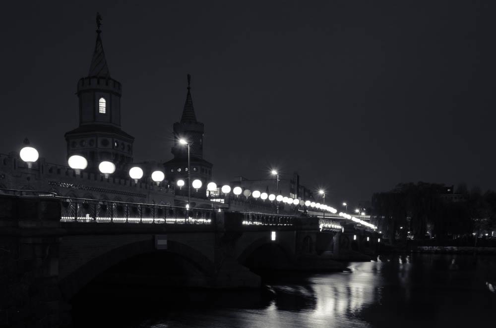 Oberbaumbrücke Lichtgrenze