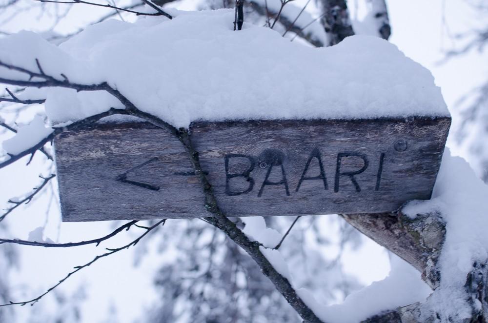 Schnee Finnland