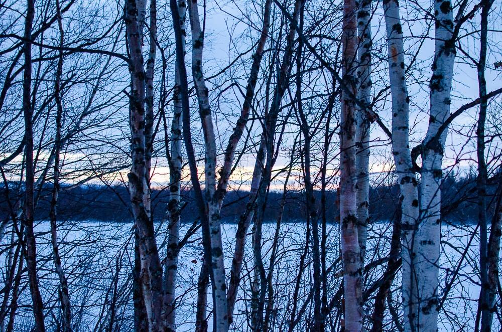 Sonnenuntergang Lapland