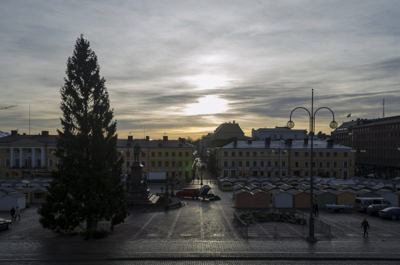 Senatsplatz in Helsinki