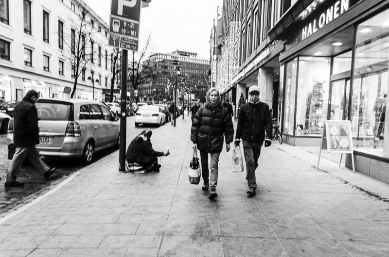 Streetphotography in Helsinki