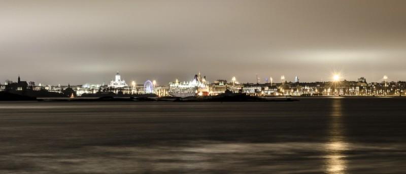 Blick nach Helsinki von Suomenlinna