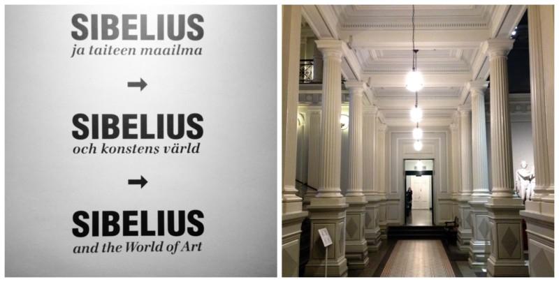 Sibelius Ausstellung Helsinki