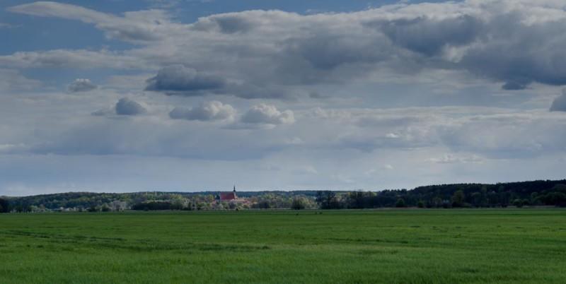 Blick auf Neuzelle Brandenburg