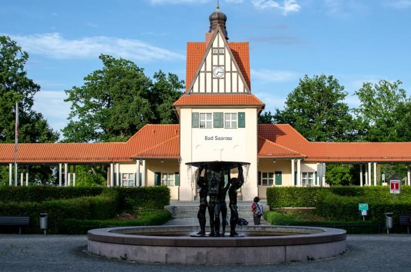 Bad Saarow Bahnhof Brandenburg