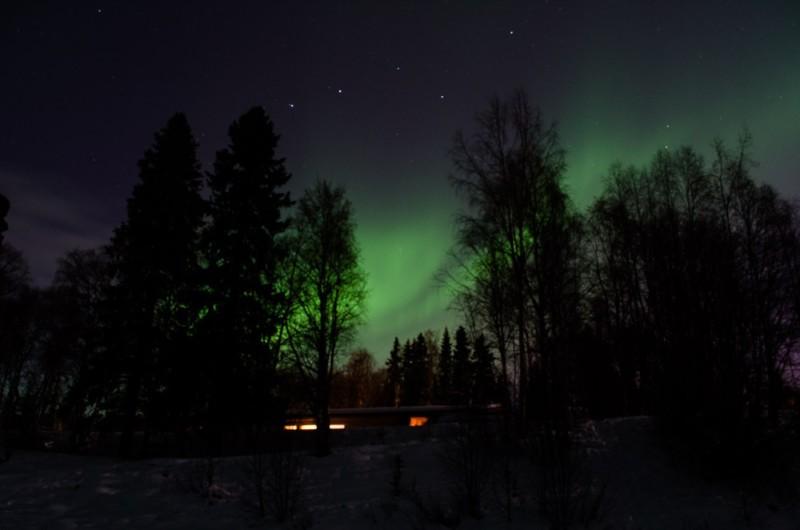 Nordlichter in Lappland