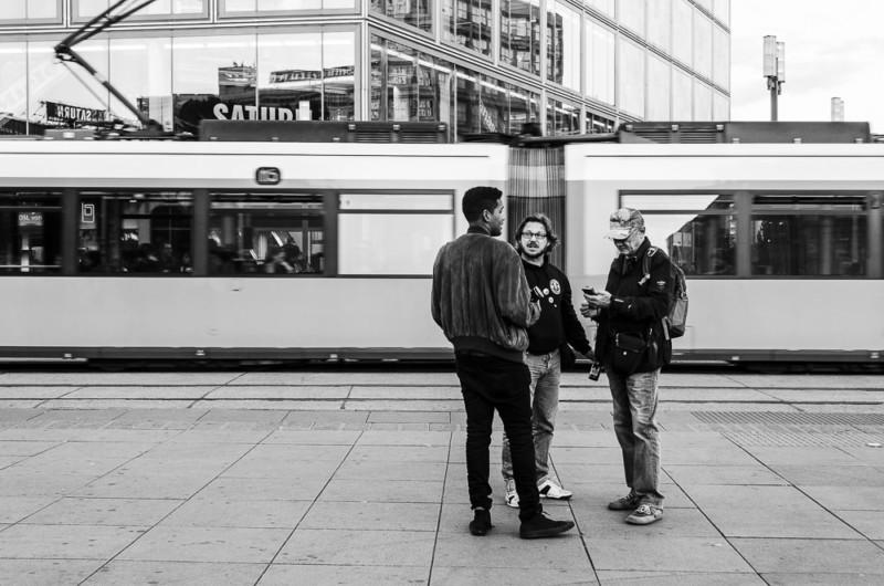 Streetphotography Berlin - Alexanderplatz (Berlin-Mitte)