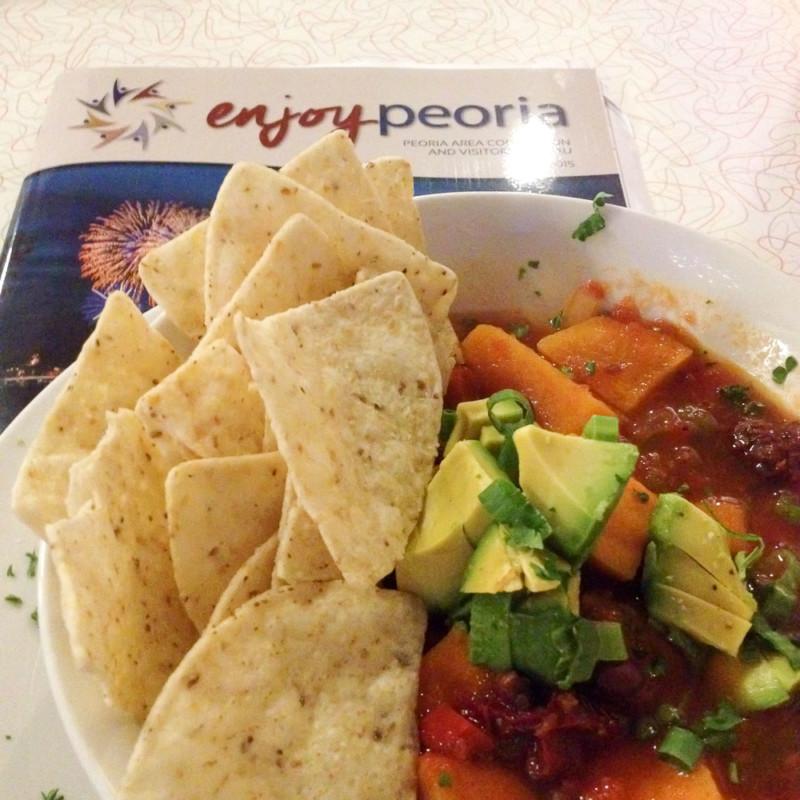Veganes Mittag in Peoria