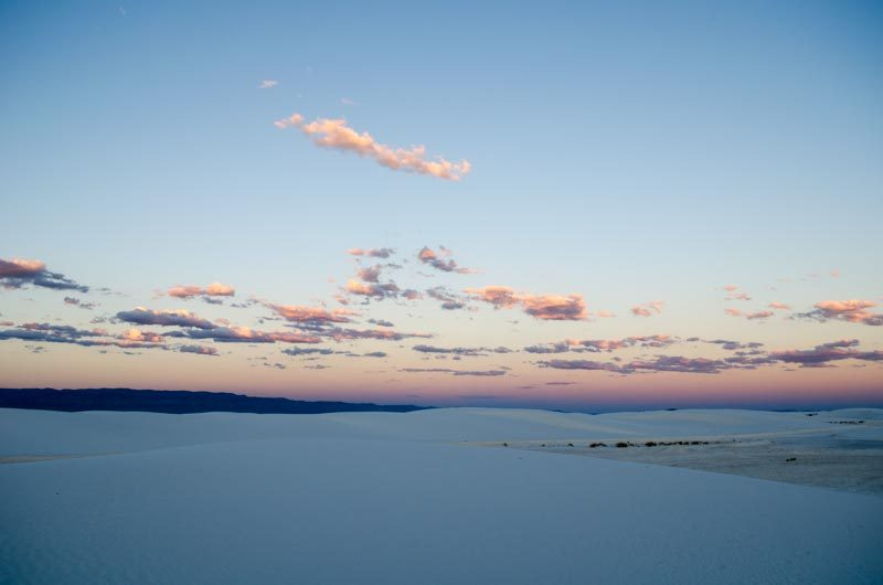 Roadtrip White Sands New Mexico