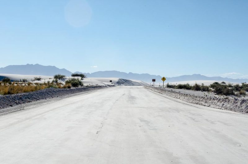 Roadtrip White Sands New Mexico