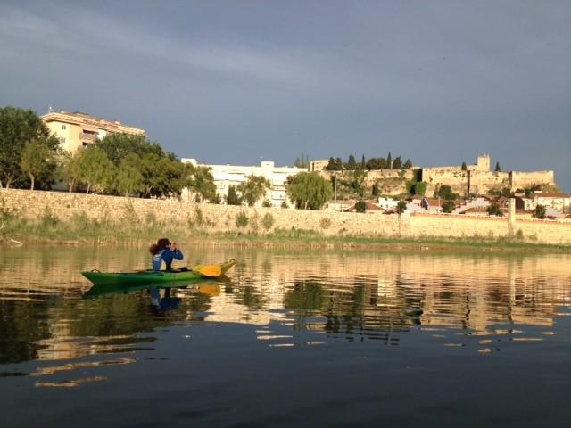Paddeln auf dem Ebro