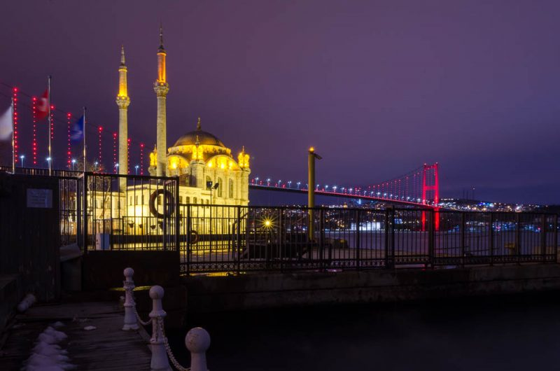 Istanbul im Schnee