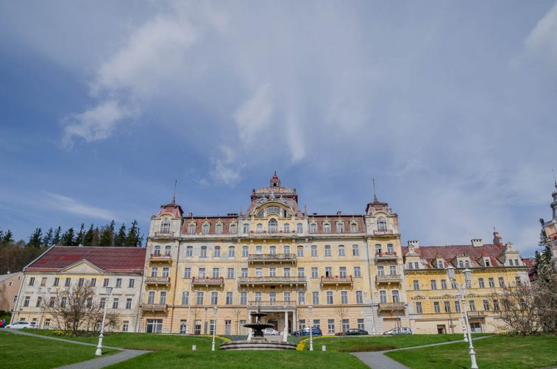 Kurhotel von King Edward VII in Marienbad