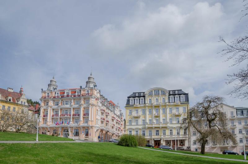 Sahnetörtchen Hotels in Marienbad