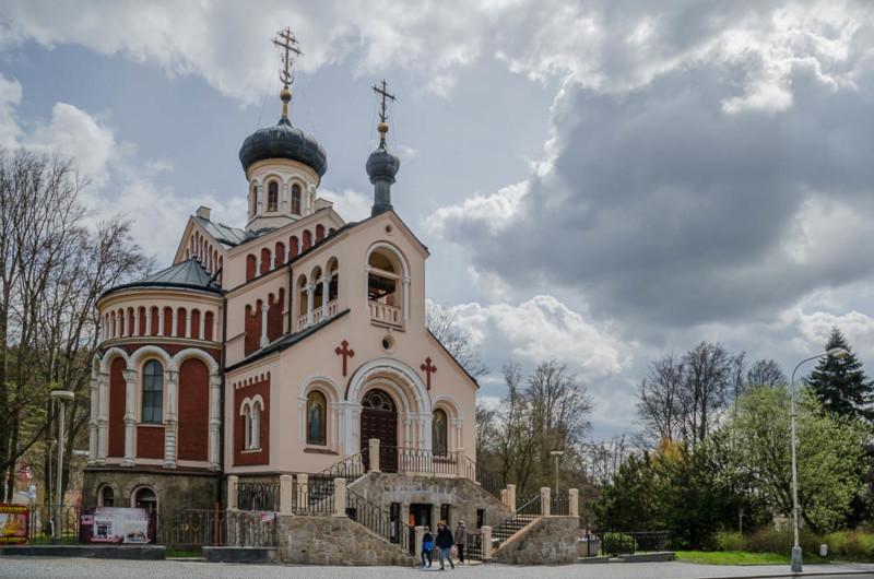 Orthodoxe Kirche des heiligen Vladimir in Marienbad