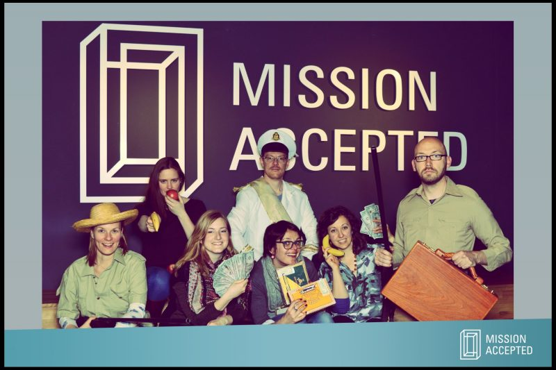 Berlin Teamentwicklung Mission Accepted